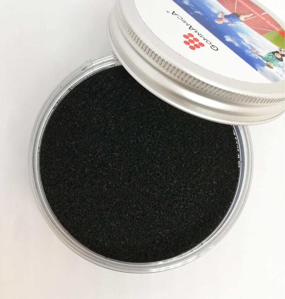 prodotto polverino di gomma 0,5-0,8 mm